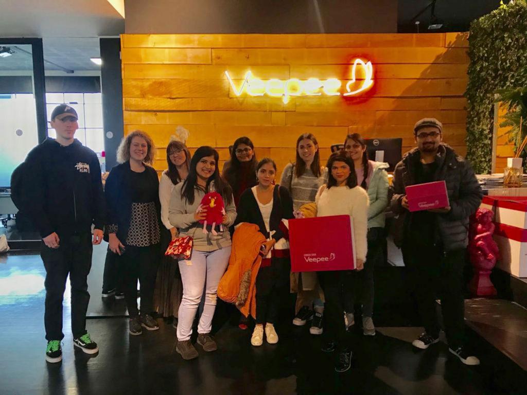 ESE Milan Students visit Veepee Headquarters in Milan